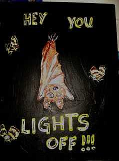 Lights Off Painting - Lights Off by Michaela Gilt