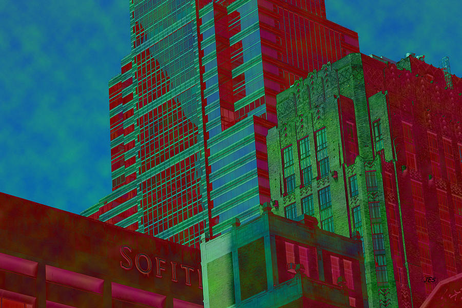 Architectural Photograph - 7971 by Jim Simms