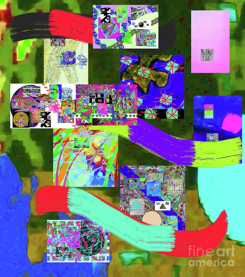 8-14-2016n Digital Art by Walter Paul Bebirian