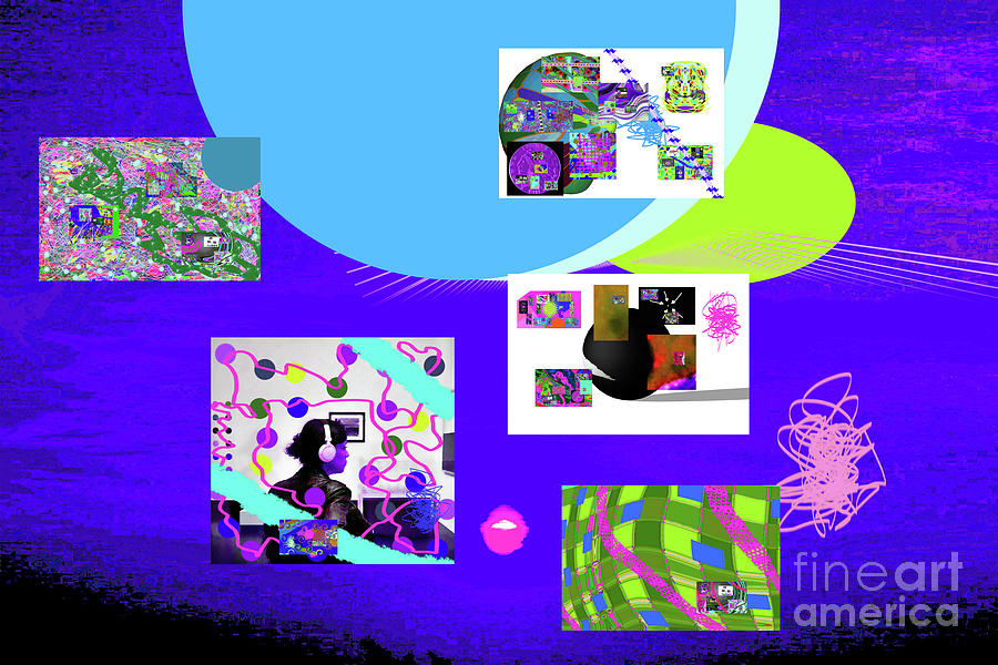 8-7-2015bab Digital Art by Walter Paul Bebirian