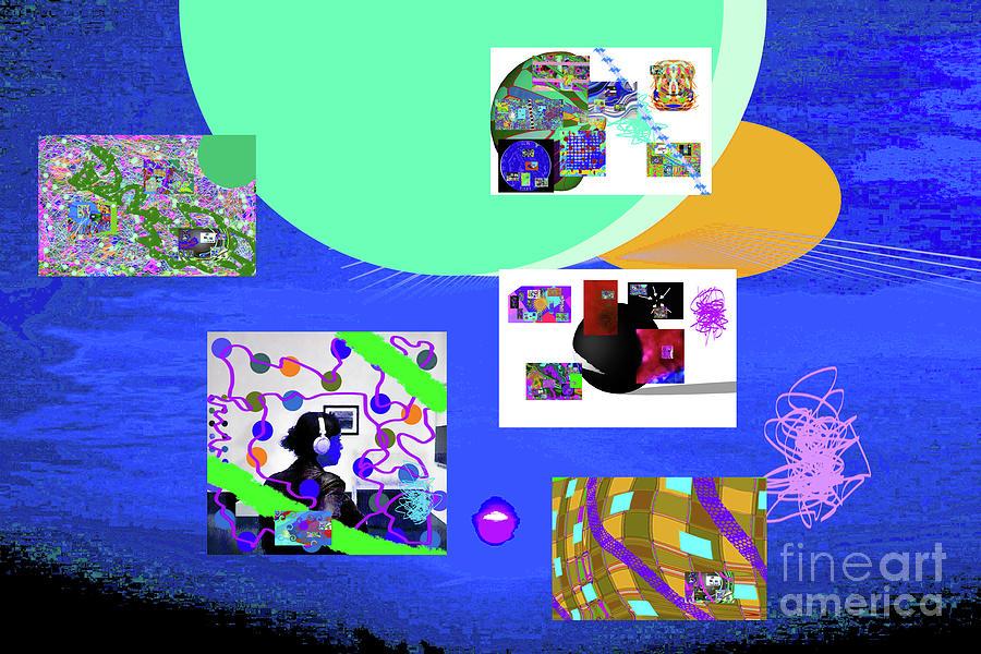8-7-2015babcdef Digital Art by Walter Paul Bebirian