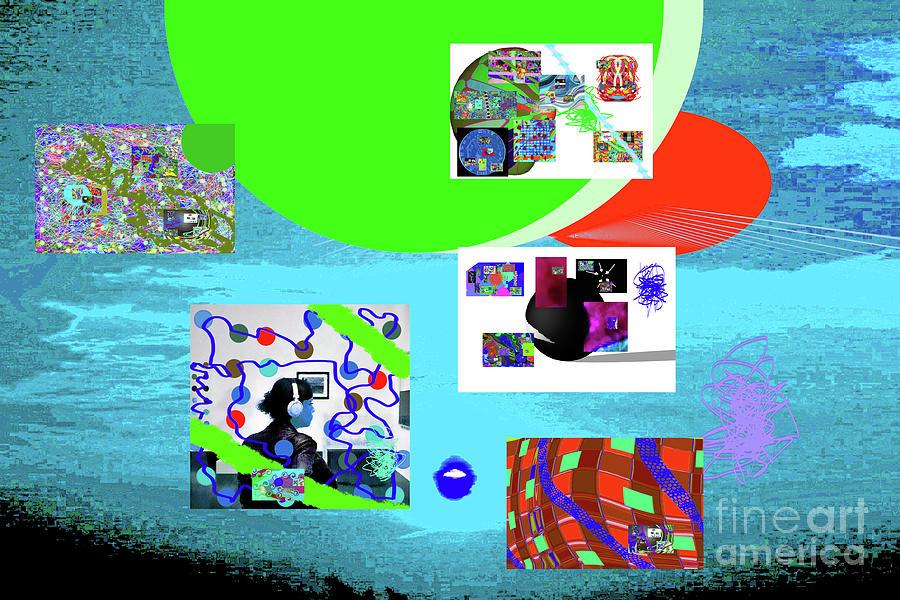8-7-2015babcdefghi Digital Art by Walter Paul Bebirian