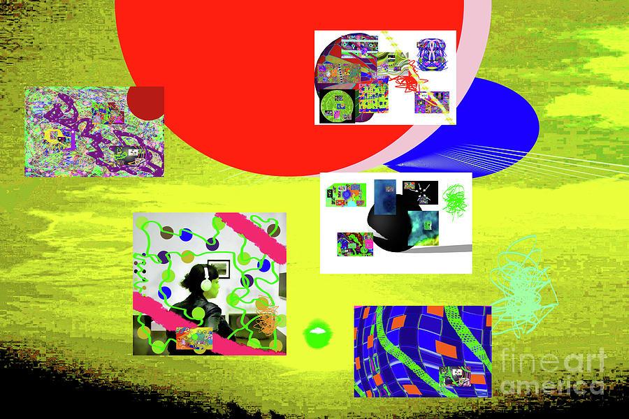 8-7-2015babcdefghijklmnopqrtuvw Digital Art by Walter Paul Bebirian
