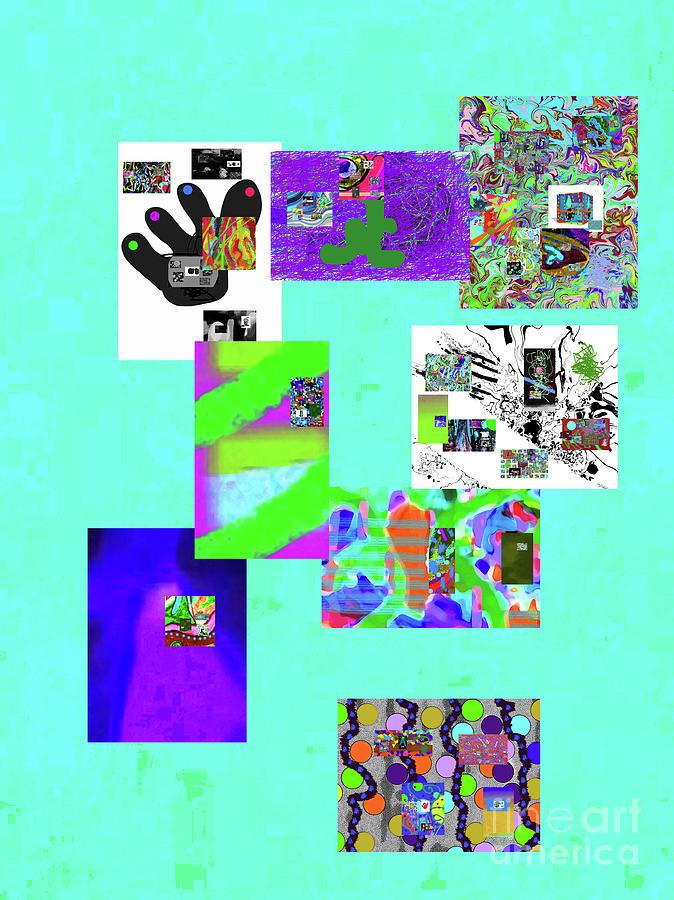 8-8-2015babcdefg Digital Art by Walter Paul Bebirian