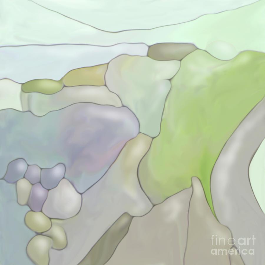 Abstract Landscape Digital Art