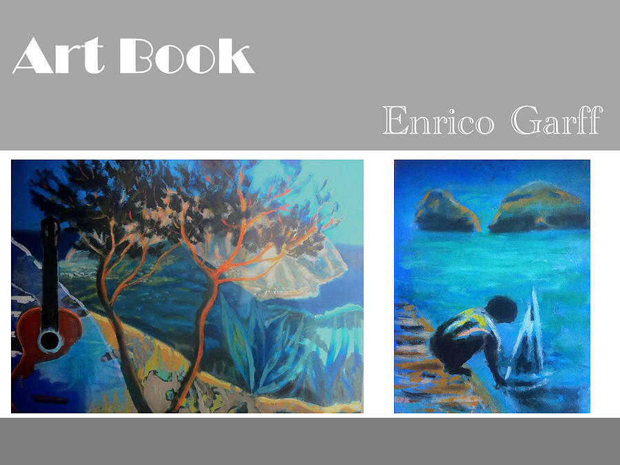 Trees Painting - Art Book by Enrico Garff