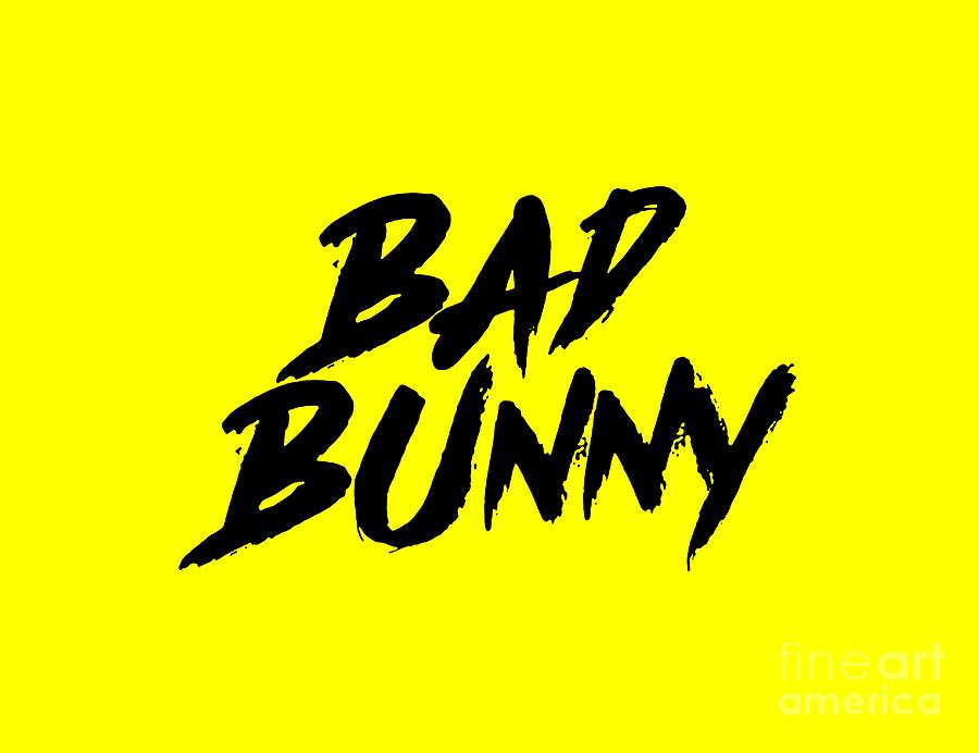 e202a39b31 Bad Bunny Digital Art by Pohon Cingur