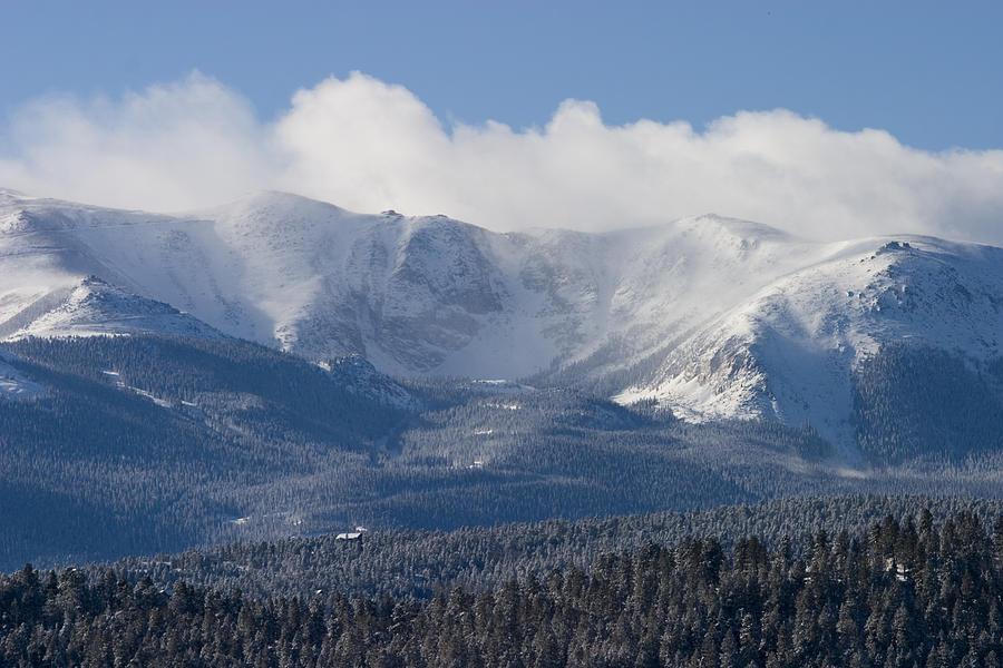 Blizzard Peak Photograph