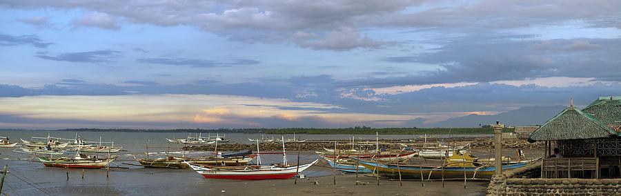 Sum-ag Punta Taytay Fishing Boats Photograph