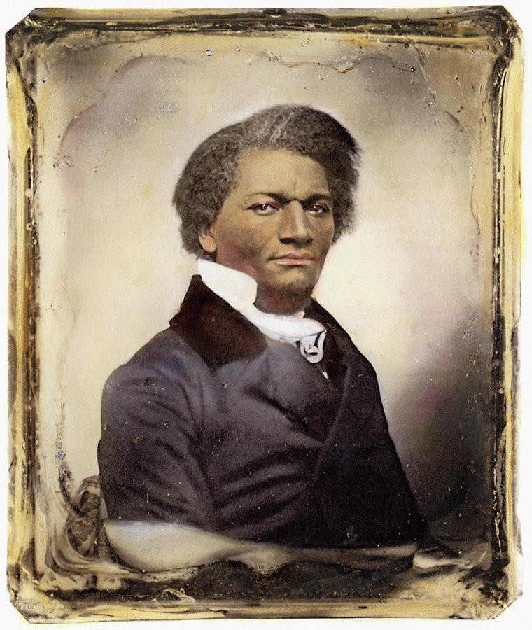 1885 Photograph - Frederick Douglass by Granger
