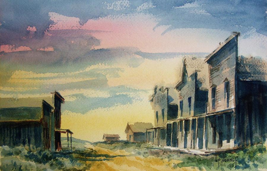 Ghost Town Painting - Ghost Town by Kevin Heaney