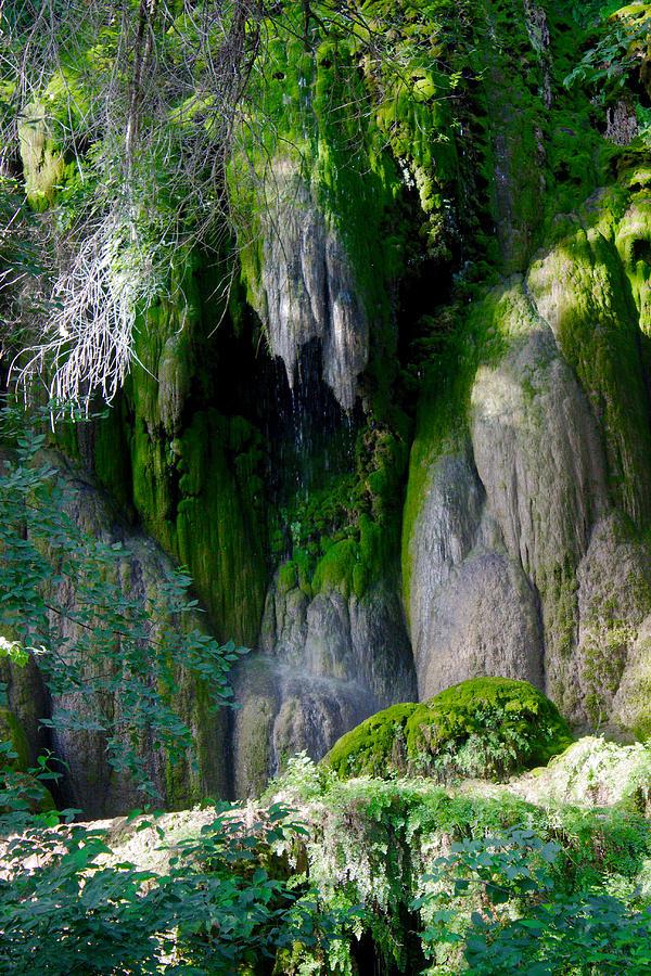 Falls Photograph - Gormon Falls Colorado Bend State Park.  by James Smullins