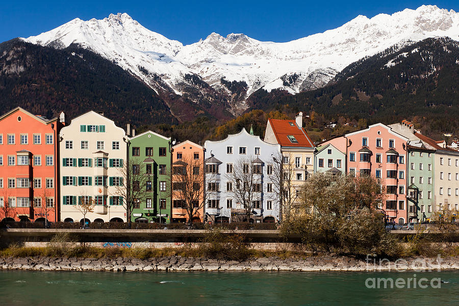 Alpine Photograph - Innsbruck by Andre Goncalves