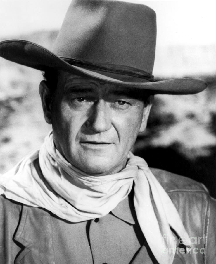 20th Century Photograph - John Wayne (1907-1979) by Granger