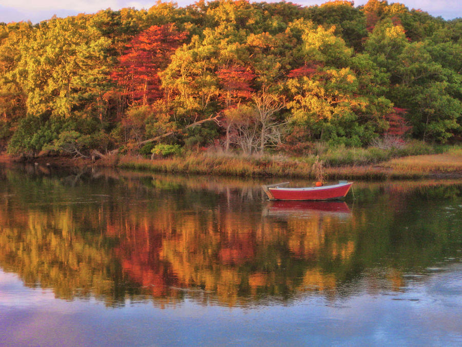 Autumn Photograph - Autumn Reflection  by JAMART Photography