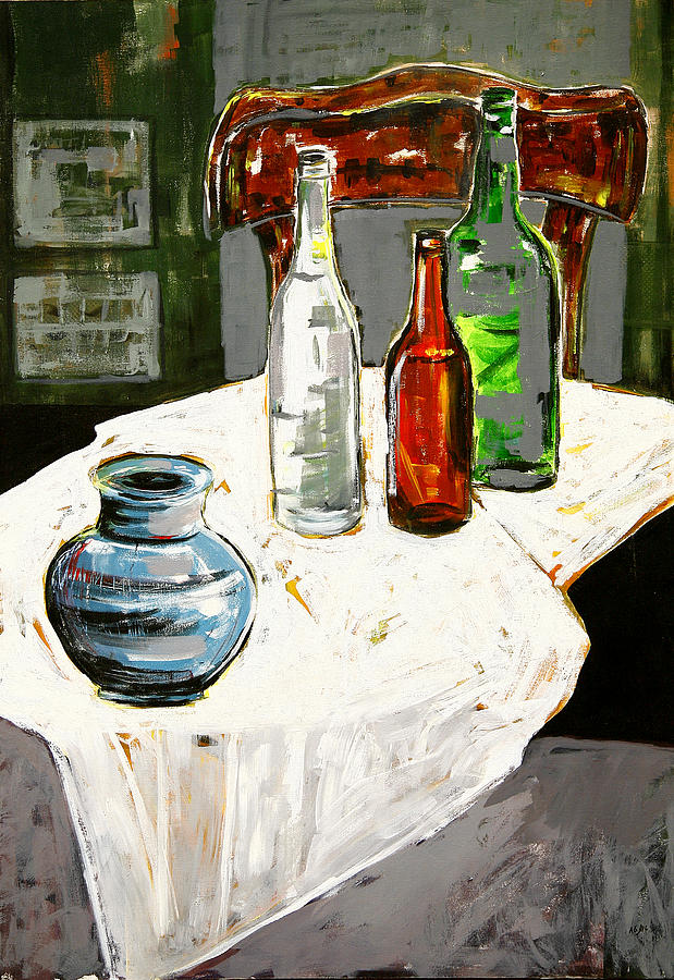 Still Life Painting by Maral Jafarian