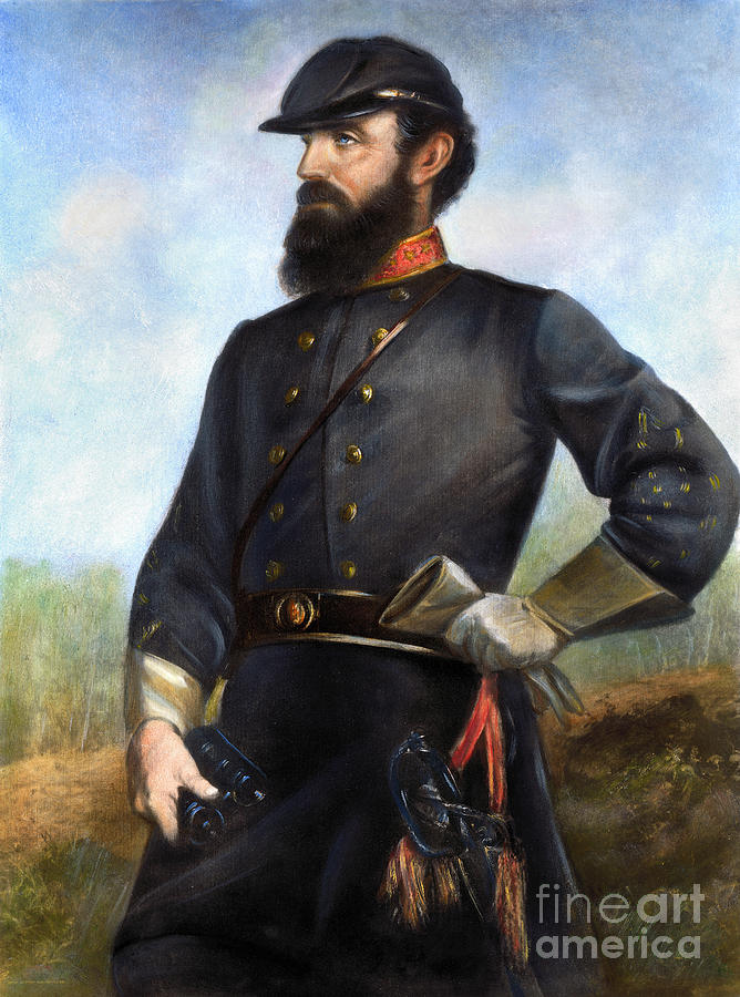 1860s Photograph - Stonewall Jackson by Granger