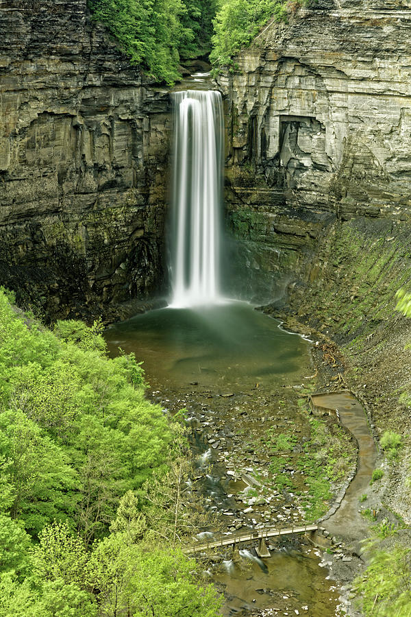 Taughannock Falls Photograph - Taughannock Falls by Doolittle Photography and Art