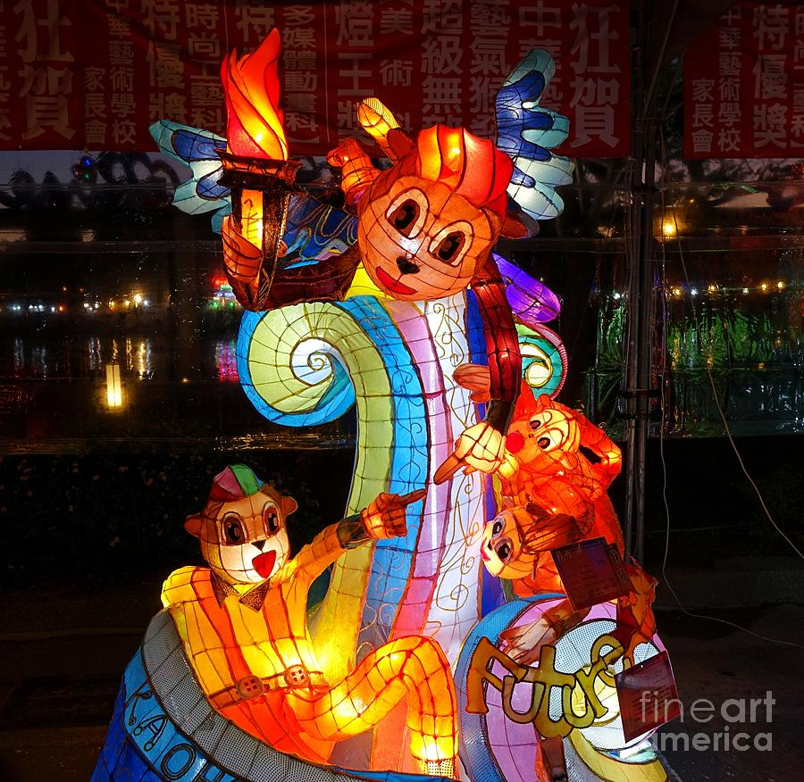 Festival Photograph - The 2016 Kaohsiung Lantern Festival by Yali Shi