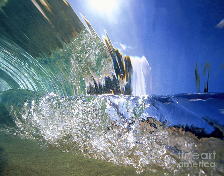 Abstract Photograph - Underwater Wave by Vince Cavataio - Printscapes