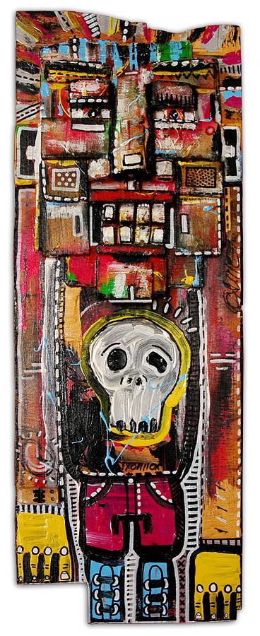 Character Painting - Untitled by Eduardo Bertone