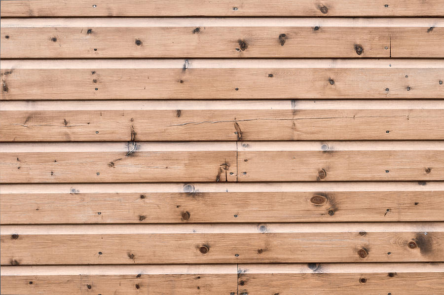 Abstract Photograph - Wooden Panels by Tom Gowanlock