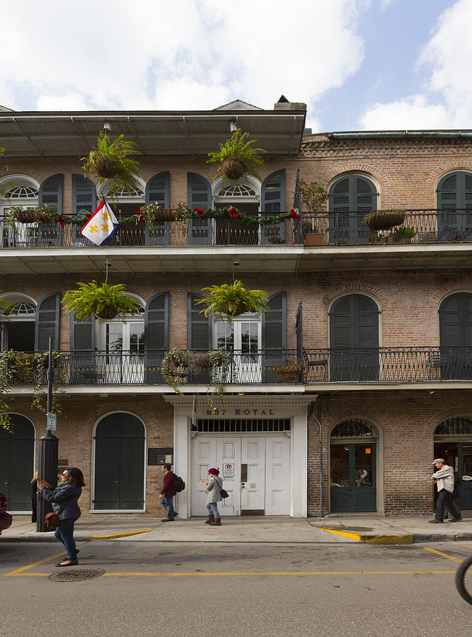 837 Royal Street New Orleans by Gregory Scott