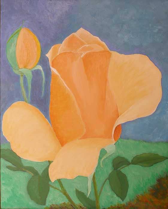 Roses Painting - Mothers Day Roses by Thi Nguyen