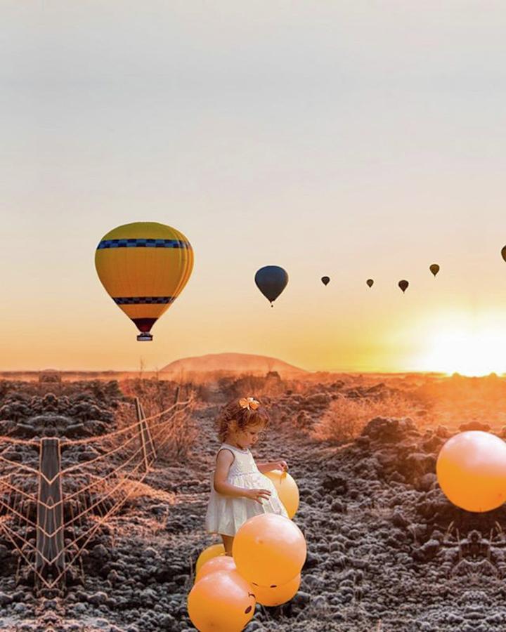 Girl Photograph - Balloon by Custom Steady