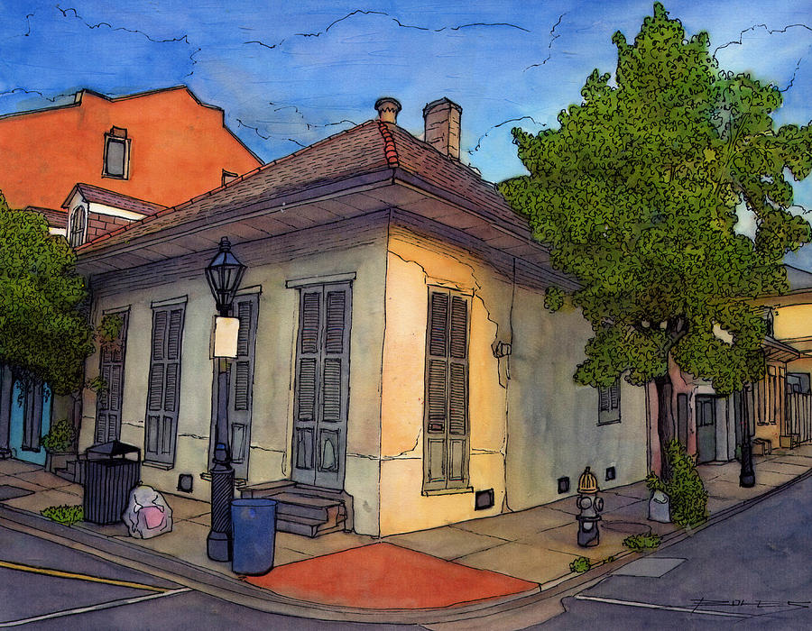 Louisiana Painting - 88 by John Boles
