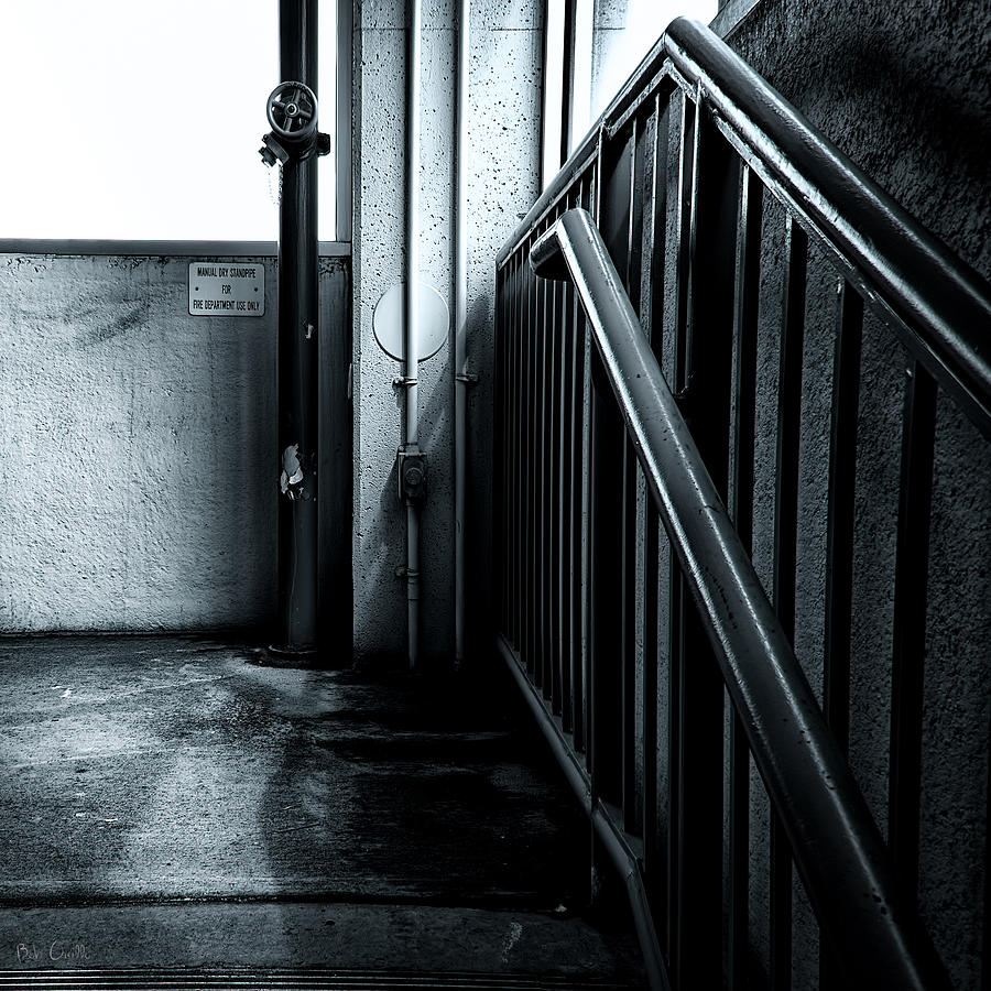 Abstract Photograph - 8th Floor by Bob Orsillo