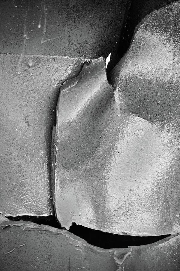 9/11 Memorial Scrap Metal Photograph