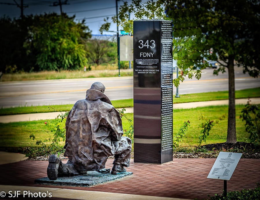 2015 Photograph - 9-11 Memorial  by Steve Fisher