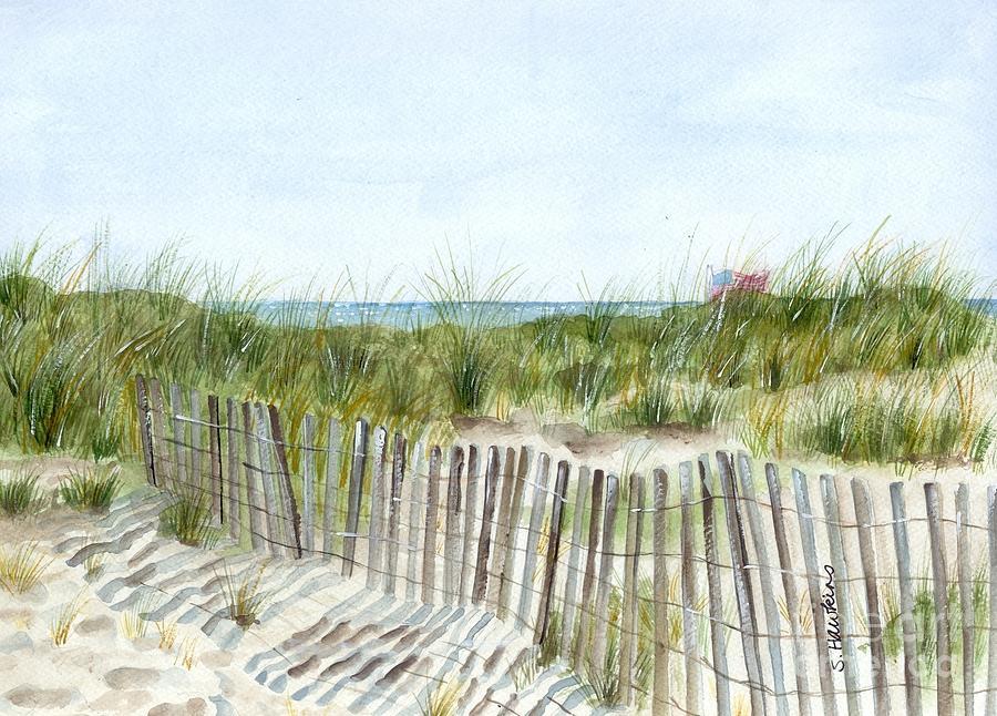 Original Watercolor Painting - 9-12-2001 by Sheryl Heatherly Hawkins