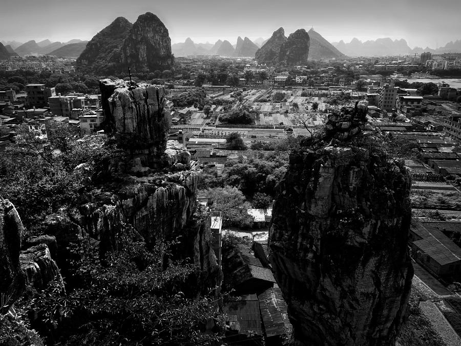 China Guilin Landscape Scenery Photography Photograph