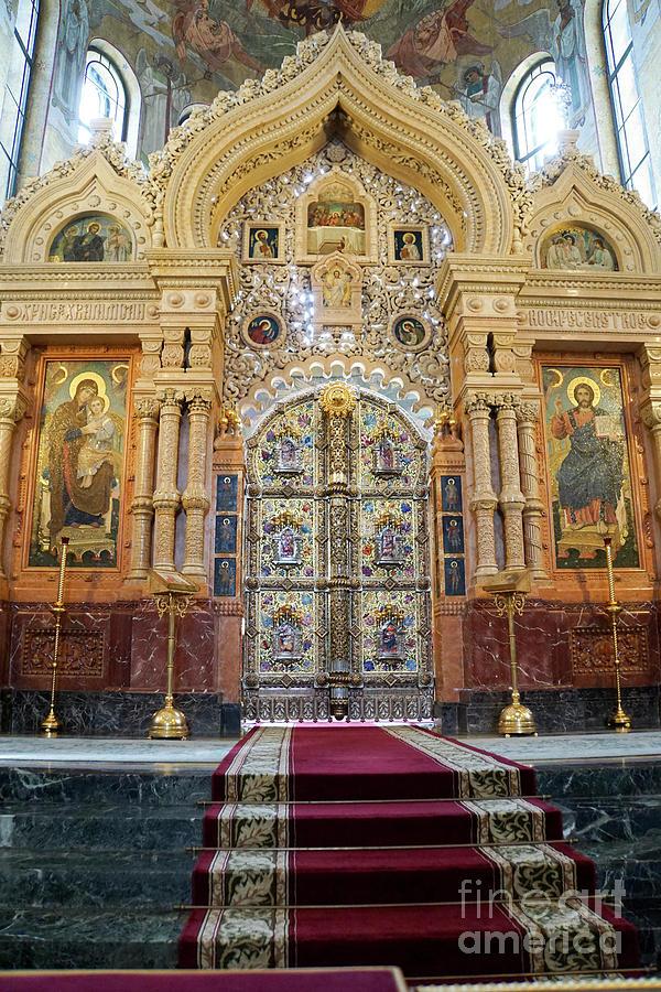 Church Photograph - Church Of The Savior On Spilled Blood  by Vladi Alon