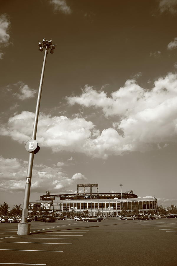 America Photograph - Citi Field - New York Mets by Frank Romeo