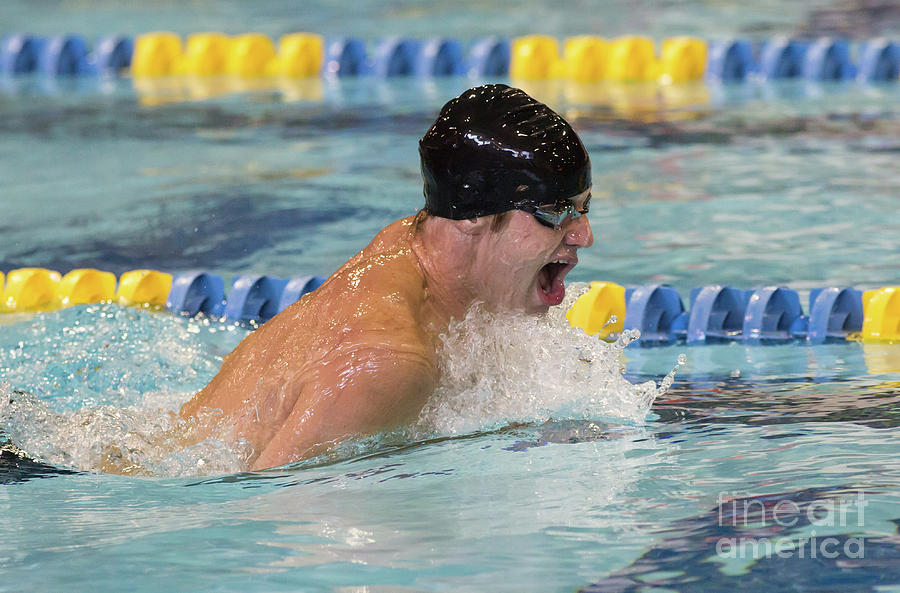 Competitive Swimming Photograph by Kevin McCarthy