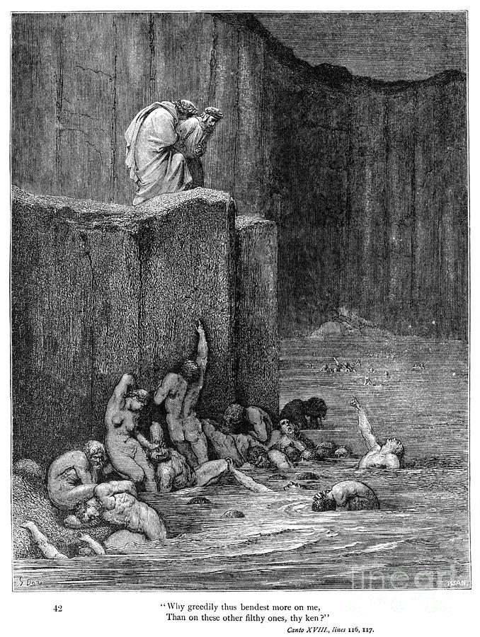 Alighieri Photograph - Dante: Inferno by Granger