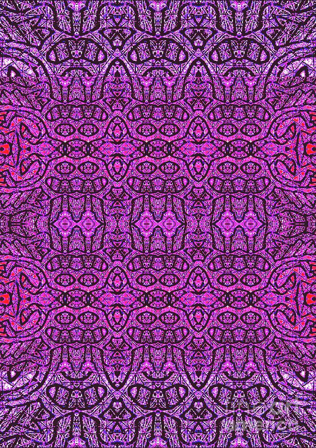 Print Digital Art - Purple Shade by Sharon Bigland