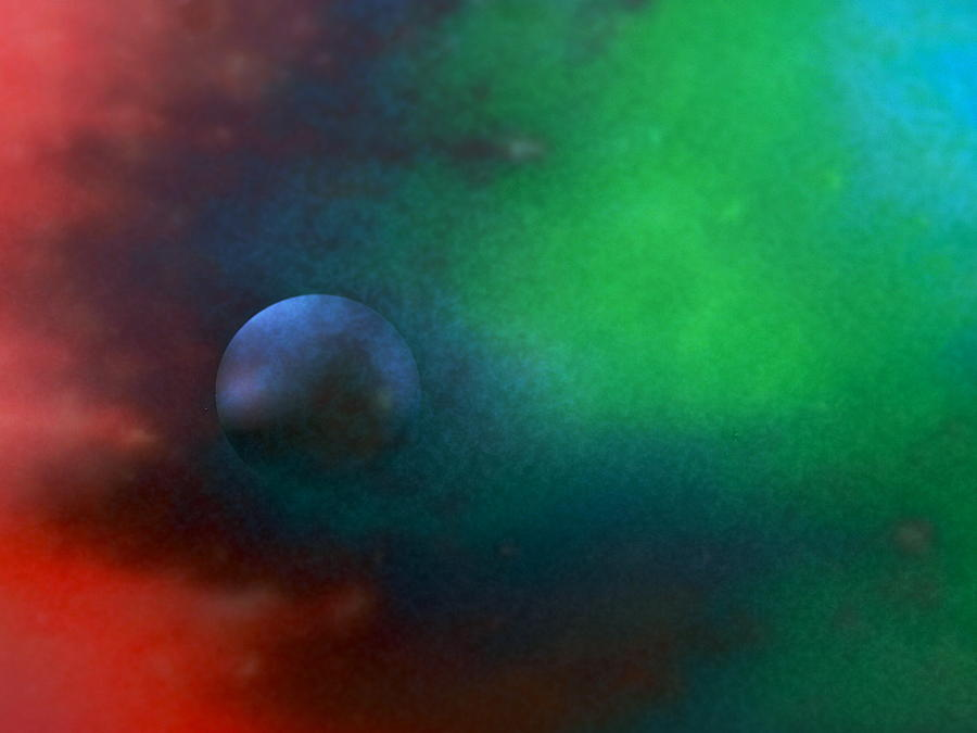 Abstract Photograph - Farther Worlds by Krunoslav Vecenaj