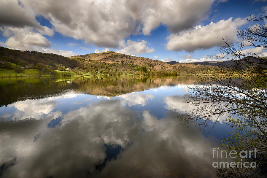 Grasmere Photograph - Grasmere by Smart Aviation