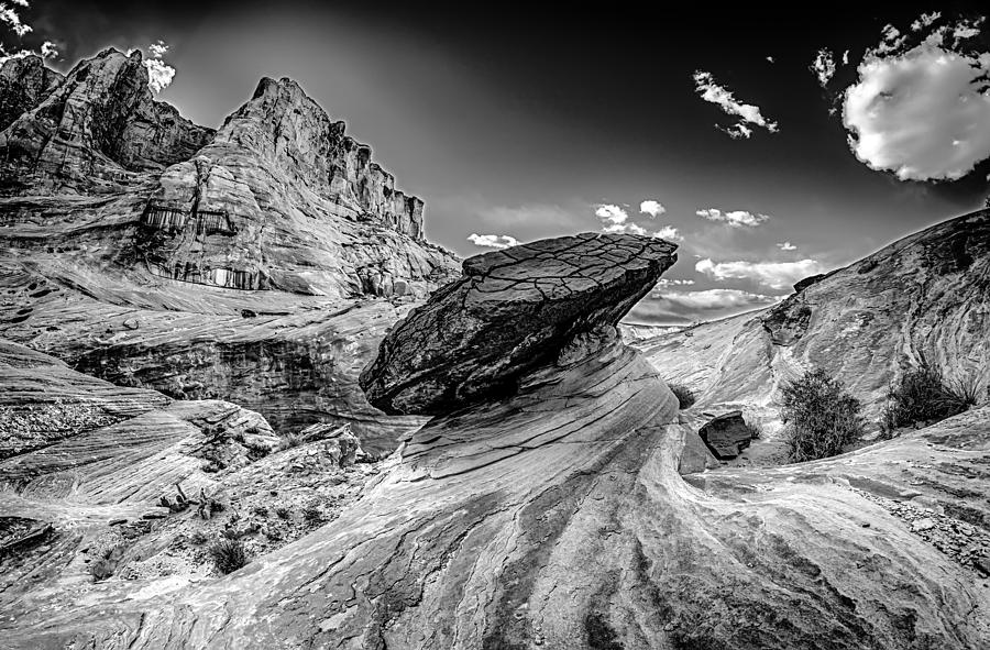 Alberta Photograph - Hoodoos At Stud Horse Point In Arizona by Alex Grichenko