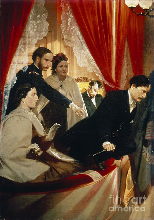 Canvas Lincoln Tech >> Lincoln Assassination Photograph by Granger