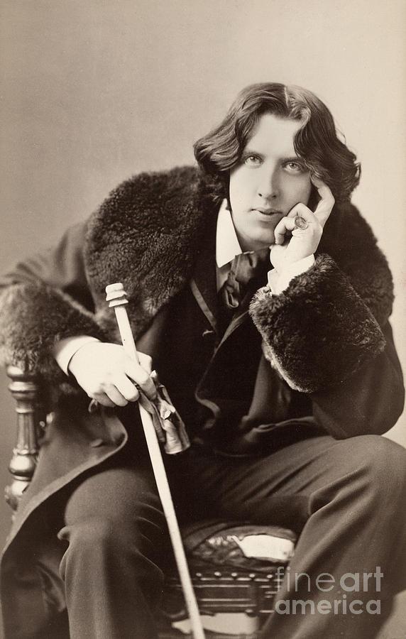 1882 Photograph - Oscar Wilde (1854-1900) by Granger