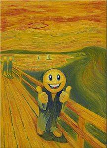 Parody Painting - Parody by Povilas Savickas