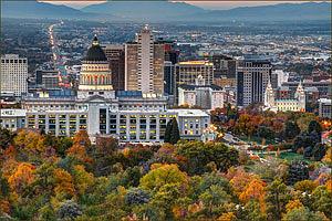 Salt Lake City Utah Usa Photograph
