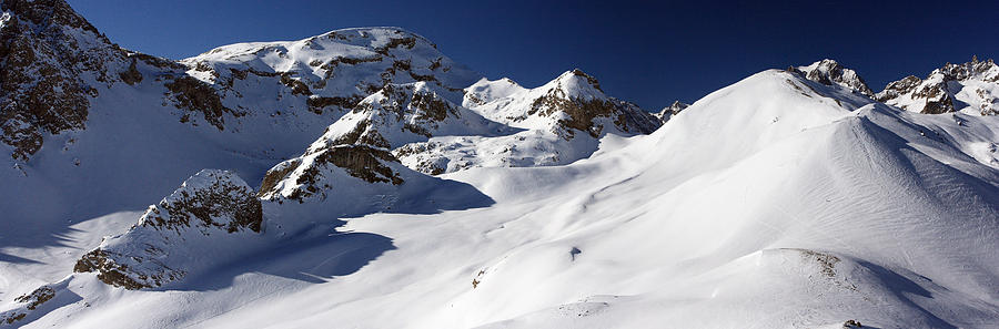 Alps Photograph - Serre Chevalier In The French Alps by Pierre Leclerc Photography
