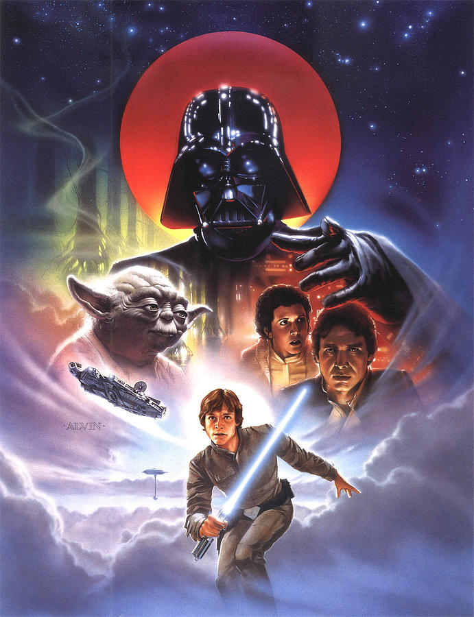 Image result for empire strikes back art
