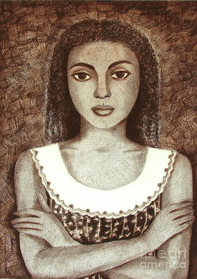 Figurative Drawing - Untitled by Padmakar Kappagantula